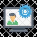 Online Recruitment Icon