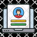 Online Login Web Account User Account Icon