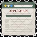 Online Registration Web Registration Online Application Icon