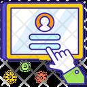 Online Registration User Account Account Password Icon