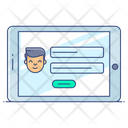 Online Registration Application Form Online Form Icon