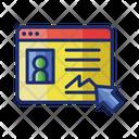 Online Registration Online Profile Icon