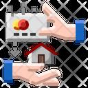 Online Rent Home Icon