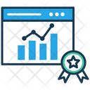 Chart Online Report Analysis Chart Icon