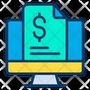 Finance Report Business Report Profit Report Icon