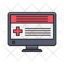 Report Online Screen Icon