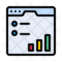 Online Report Graph Report Icon
