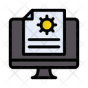 Online Report Online File Icon
