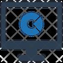 Analytics Computer Monitoring Icon
