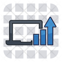 Online Report Online Analysis Online Analytics Icon