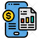 Smartphone Analytic Data Icon