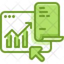 Online Report Analysis Icon