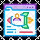 Web Site Find Icon