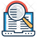 Online Research Survey Icon