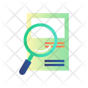 Online Research Research Paper Study Icon