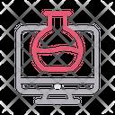 Beaker Screen Lcd Icon