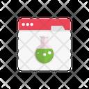 Beaker Webpage Browser Icon