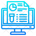 Online Research Lab Laboratory Icon