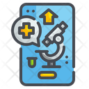 Online Research Online Checkup Laboratory Icon
