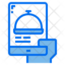Mobile Delivery Food Icon