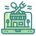 Online Restaurant Icon