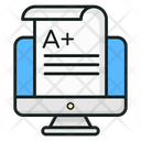 Exam Sheet Result Sheet Online Result Icon