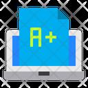 Graduate Online Education Icon