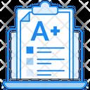 Grade Sheet Online Result A Grade Icon
