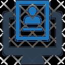 Online Job Application Resume Icon