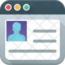 Website For Resume Icon