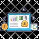 Online Revenue Icon