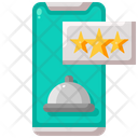 Delivery Food Rate Icon