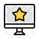 Online Review Stars Online Icon