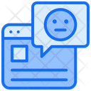 Online Review Online Feedback Comment Icon