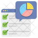Online Review Chart Icon