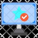 Monitor Reward Star Icon