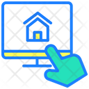 Online Sale Online Property Sale Property Sale Icon