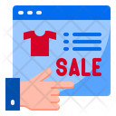 Shopping Online Sale Icon