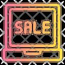 Online Sale Cyber Monday Icon