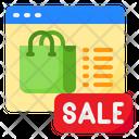 Shop Shopping Bag Sale Icon
