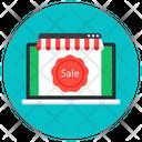 Online Sale Shopping Sale Online Shop Icon