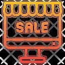 Online Sale Sale Discount Icon
