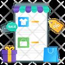 Sale App Mcommerce Shopping Sale Icon