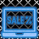 Online Sale Sale Online Icon