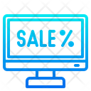 Online Sale Sale Computer Icon