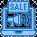 Online Sale Sale Payment Icon