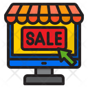 Online Sale Shop Shopping Online Icon