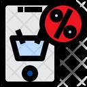 Online Sale Online Discount Sale Icon
