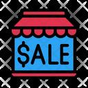Online Sale Sale Store Icon