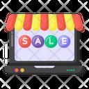 Online Shopping Sale Online Sale Digital Sale Icon
